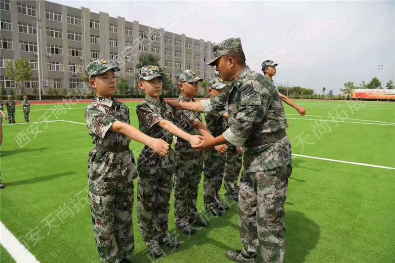 杨凌国防教育军训基地